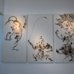 "20 Exhibition view of ""Perception with Newfangled Zhang Wei's Works Exhibition"""