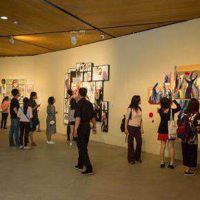 21 Exhibition View of the Graduation Exhibition for the CAFA Graduate School