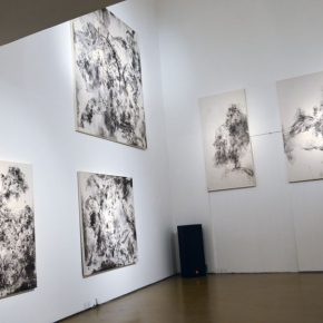 "25 Exhibition view of ""Perception with Newfangled Zhang Weis Works Exhibition"" 290x290 - New Visual Experience of Ink: ""Perception with Newfangled Zhang Wei's Works Exhibition"" opened at the Today Art Museum"