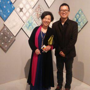 25 Xing Yanchao and his tutor Ning Fangqian 290x290 - CAFA Graduation Season 丨Case Observation of Mural: Xing Yanchao – Walking Between the Reality and Ideal