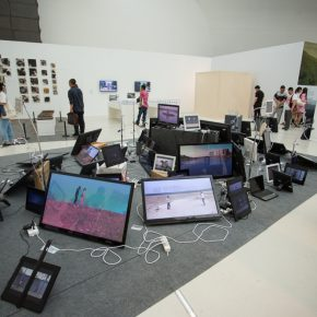 26 Exhibition View of the Graduation Exhibition for the CAFA Graduate School