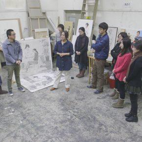 26 Xing Yanchao in Ning Fangqian's class  290x290 - CAFA Graduation Season 丨Case Observation of Mural: Xing Yanchao – Walking Between the Reality and Ideal