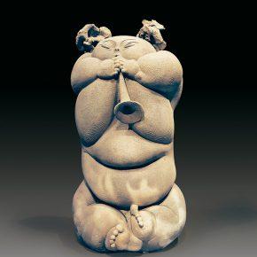29 Lv Pinchang A Fu No.5 pottery 1998 290x290 - Lv Pinchang