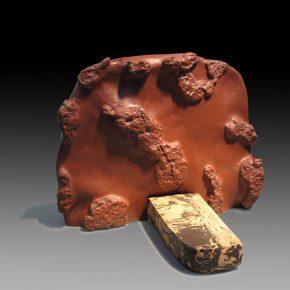 38 Lv Pinchang Corrosion No.8 pottery 1988 290x290 - Lv Pinchang