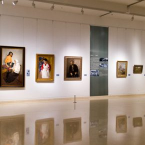 """43 Exhibition view of """"The Temperature of History"""" in Shijiazhuang 290x290 - """"The Temperature of History"""" Opened in Shijiazhuang Which Reorganized the Deep History of CAFA with Hebei Province"""