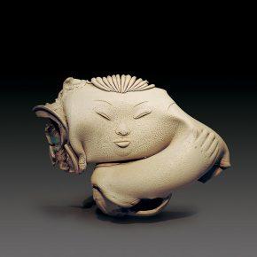 44 Lv Pinchang A Fu No.1 porcelain 1986  290x290 - Lv Pinchang