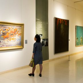 """45 Exhibition view of """"The Temperature of History"""" in Shijiazhuang 290x290 - """"The Temperature of History"""" Opened in Shijiazhuang Which Reorganized the Deep History of CAFA with Hebei Province"""