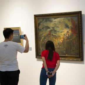 """47 Exhibition view of """"The Temperature of History"""" in Shijiazhuang 290x290 - """"The Temperature of History"""" Opened in Shijiazhuang Which Reorganized the Deep History of CAFA with Hebei Province"""