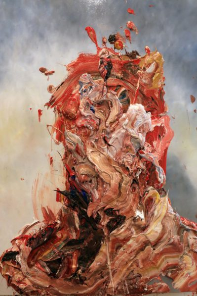 Antony Micallef, Raw Intent No. 9, 2016; Oil on French Linen, 100x80cm