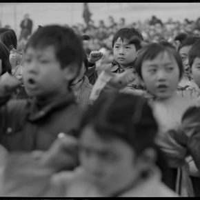 Pan Ke, Children joint the Young Pioneers are taking the oath, Xi'an, 1987,