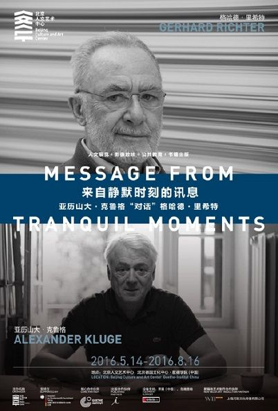 Poster of Message from Tranquil Moments A Special Dialogue Between Alexander Kluge and Gerhard Richter