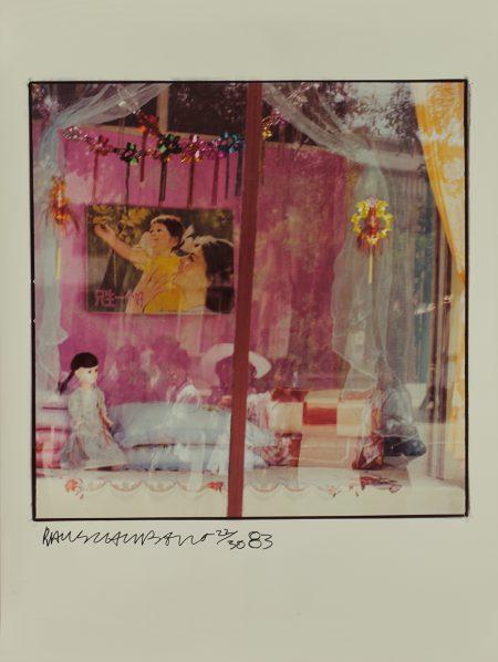 Robert Rauschenberg (1925–2008)Study for Chinese Summerhall1983Chromogenic print66 x 66 cm image; 101.6 x 76.2 cm sheetRobert Rauschenberg Foundation© Robert Rauschenberg Foundation 2016