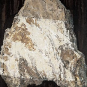 Wen Lipeng White Stone Series Pathetique No. 1 Oil on canvas 290x290 - A Series of Artworks Donated to NAMOC 2016: Marks in Mind – Wen Lipeng Oil Paining Art Exhibition Opening May 13