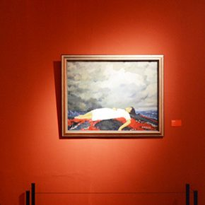 """The Solemn and Noble: """"Marks in Mind – Wen Lipeng Oil Painting Art Exhibition"""" grandly opened at the NAMOC"""