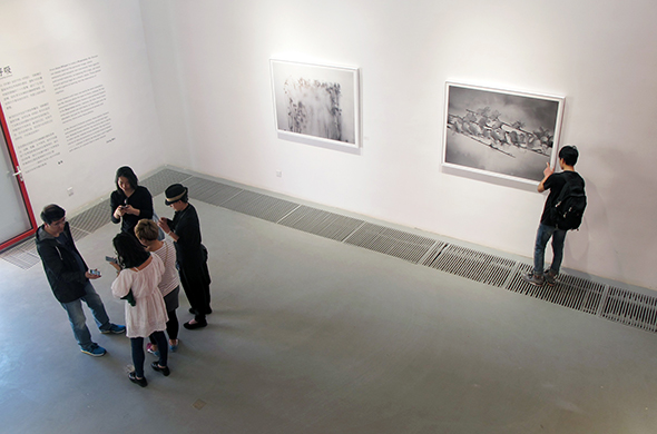 "featured image of the ""Respiration"" Wu Shunan Solo Exhibition"