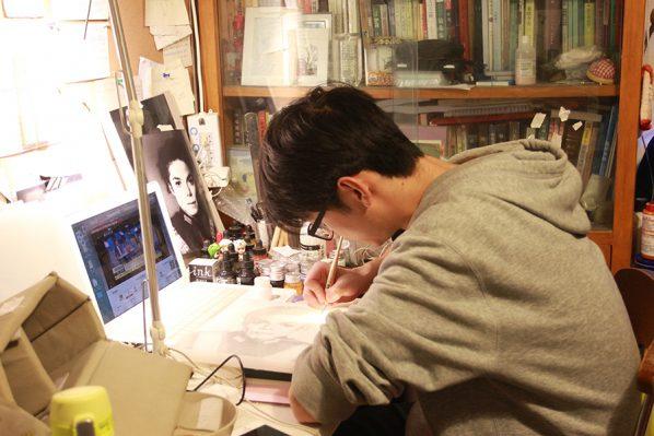 01 Ji Bei, A Graduate of the Department of Printmaking, CAFA