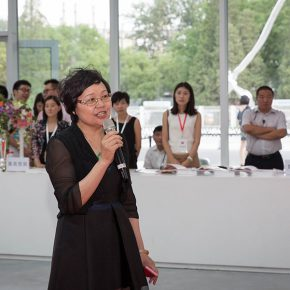 01 Zhou Xujun Director of Beijing Minsheng Art Museum addressed 290x290 - The Exhibition of Annual of Contemporary Art of China 2015 Opened at Beijing Minsheng Art Museum to Celebrate Its First Anniversary