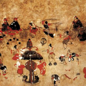 02 A Helingeer Han Tomb Mural 290x290 - CAFA Graduation Season丨Case Observation of Art History: Tang Yu – A Text Observer Who Is Engaged in a Lonely Job