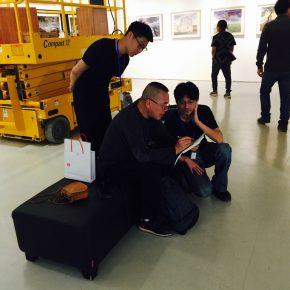 02 Ji Bei and his graduate teacher Prof. Li Fan