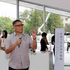 03 Distinguished Art Theorist Prof. Wu Hong Director of OCAT  290x290 - The Exhibition of Annual of Contemporary Art of China 2015 Opened at Beijing Minsheng Art Museum to Celebrate Its First Anniversary
