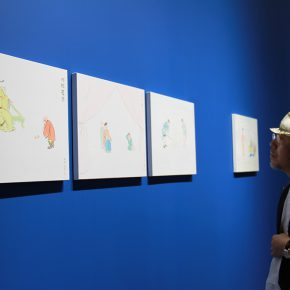 "03 Exhibition View of""The Origin Twenty four Filial Exemplar Illustrations"" 290x290 - Recreation of Classic Images: Wu Yi's Solo Exhibition ""The Origin: Twenty-four Filial Exemplar Illustrations"" was unveiled in Beijing"