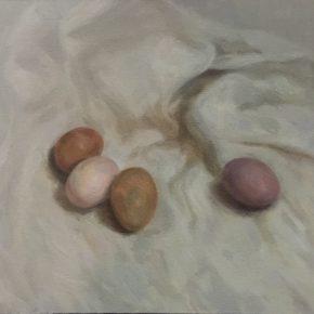 03 Liu Pans Study of Eggs 290x290 - CAFA Graduation Season | Case Study on the School of Fine Arts: Liu Pan –  From Houshayu to Huajiadi