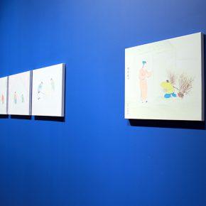 "04 Exhibition View of""The Origin Twenty four Filial Exemplar Illustrations"" 290x290 - Recreation of Classic Images: Wu Yi's Solo Exhibition ""The Origin: Twenty-four Filial Exemplar Illustrations"" was unveiled in Beijing"