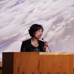 """04 Ning Ying President of the Commission of Agnès Varda's Award famous director hosted the award ceremony 290x290 - Agnès Varda's Award 2016 was successfully held at CAFA & Gao Xiaosong won the """"Star of the Year"""""""
