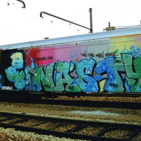 "04 Painter train by artist NASTY 290x290 - The Group Exhibition ""Street Art: a global view"" Opening July 1 at CAFA Art Museum"