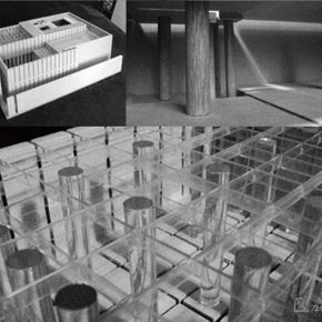 04 Restoration of Dante's Memorial (model), a study of the optional course finished by Ru Yi and a German exchange student, 2010