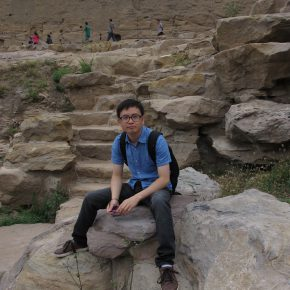 04 Tang Yu studied in Datong in 2013 290x290 - CAFA Graduation Season丨Case Observation of Art History: Tang Yu – A Text Observer Who Is Engaged in a Lonely Job