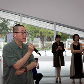 04 Wang Huangsheng Representative of Artists Director of CAFA Art Museum 290x290 - The Exhibition of Annual of Contemporary Art of China 2015 Opened at Beijing Minsheng Art Museum to Celebrate Its First Anniversary