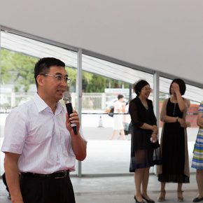 05 Chen Zhe Vice Chairman of China Industry Alliance 290x290 - The Exhibition of Annual of Contemporary Art of China 2015 Opened at Beijing Minsheng Art Museum to Celebrate Its First Anniversary
