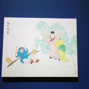 "05 Exhibition View of""The Origin Twenty four Filial Exemplar Illustrations"" 290x290 - Recreation of Classic Images: Wu Yi's Solo Exhibition ""The Origin: Twenty-four Filial Exemplar Illustrations"" was unveiled in Beijing"