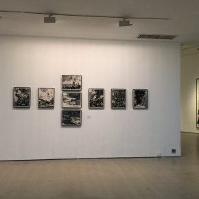 05 Exhibition view of Annual Review Exhibition of China Contemporary Ink Painting (2015-2016)