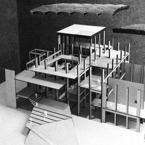 05 Ru Yi, undergraduate graduation design – Show Space (model), 2013