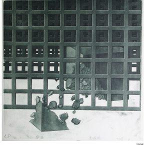 06 Gao Zhenpeng Going Ahead 50 x 50 cm 2008 290x290 - CAFA Graduation Season | Case Observation of Experimental Art: Gao Zhenpeng – Thank Goodness I am Myself