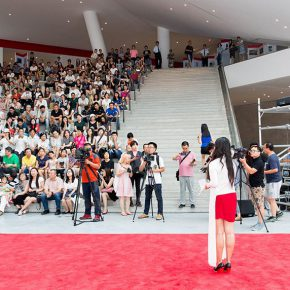 06 The Opening Ceremony 1 290x290 - The Exhibition of Annual of Contemporary Art of China 2015 Opened at Beijing Minsheng Art Museum to Celebrate Its First Anniversary