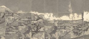 """07 Su Xinping Wasteland pencil on paper 168 x 1344 cm 2015 290x128 - Never Disappeared Mental Imagery: """"Horizon – the Exhibition of Su Xinping's Works"""" Showcases New Creations by the Artist"""