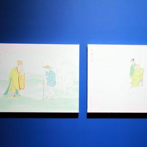 "09 Exhibition View of""The Origin Twenty four Filial Exemplar Illustrations"" 290x290 - Recreation of Classic Images: Wu Yi's Solo Exhibition ""The Origin: Twenty-four Filial Exemplar Illustrations"" was unveiled in Beijing"