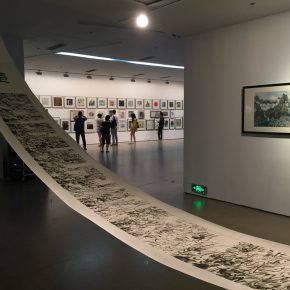 09 Exhibition view of Annual Review Exhibition of China Contemporary Ink Painting (2015-2016)