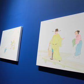 "10 Exhibition View of""The Origin Twenty four Filial Exemplar Illustrations"" 290x290 - Recreation of Classic Images: Wu Yi's Solo Exhibition ""The Origin: Twenty-four Filial Exemplar Illustrations"" was unveiled in Beijing"