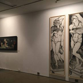 10 Exhibition view of Annual Review Exhibition of China Contemporary Ink Painting (2015-2016)
