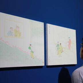 "11 Exhibition View of""The Origin Twenty four Filial Exemplar Illustrations"" 290x290 - Recreation of Classic Images: Wu Yi's Solo Exhibition ""The Origin: Twenty-four Filial Exemplar Illustrations"" was unveiled in Beijing"