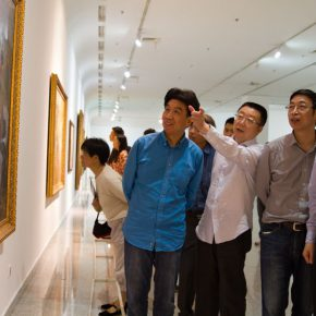 "11 Honored guests visited the exhibition 290x290 - Centurial Chinese Oil Paintings Tours to the South: ""The Temperature of History"" opened in Wuhan"