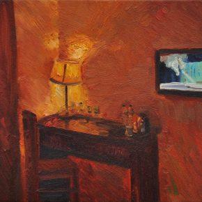 11 Liu Pan The Light was on 2015 Oil on canvas 30x40 cm 290x290 - CAFA Graduation Season | Case Study on the School of Fine Arts: Liu Pan –  From Houshayu to Huajiadi