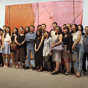 15 Group photo of the students from the 10th Studio and the tutor Tan Ping 1 290x290 - CAFA Graduation Season丨Case Observation of Visual Communication: Long Yowen – Reading, Film and Graphic Design