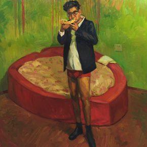 19 Liu Pan So Sweet 2015 Oil on canvas 170x175 cm 290x290 - CAFA Graduation Season | Case Study on the School of Fine Arts: Liu Pan –  From Houshayu to Huajiadi