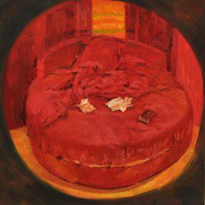 20 Liu Pan Bed 2015 Oil on canvas 100x100 cm 290x290 - CAFA Graduation Season | Case Study on the School of Fine Arts: Liu Pan –  From Houshayu to Huajiadi
