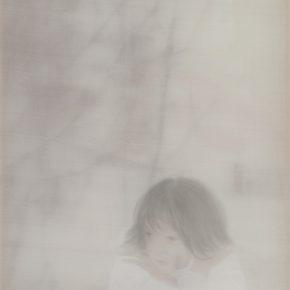 60 Xu Hualing, Snow Country, mixed media, 41 x 32 cm, 2006